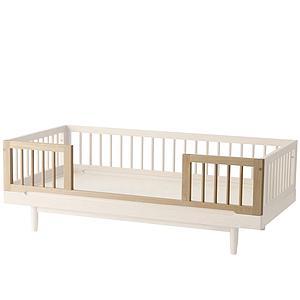 2 barreras kit seguridad cuna-cama PURE Nobodinoz