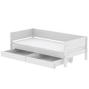 2 cajones cama 90x200cm WHITE Flexa blanco