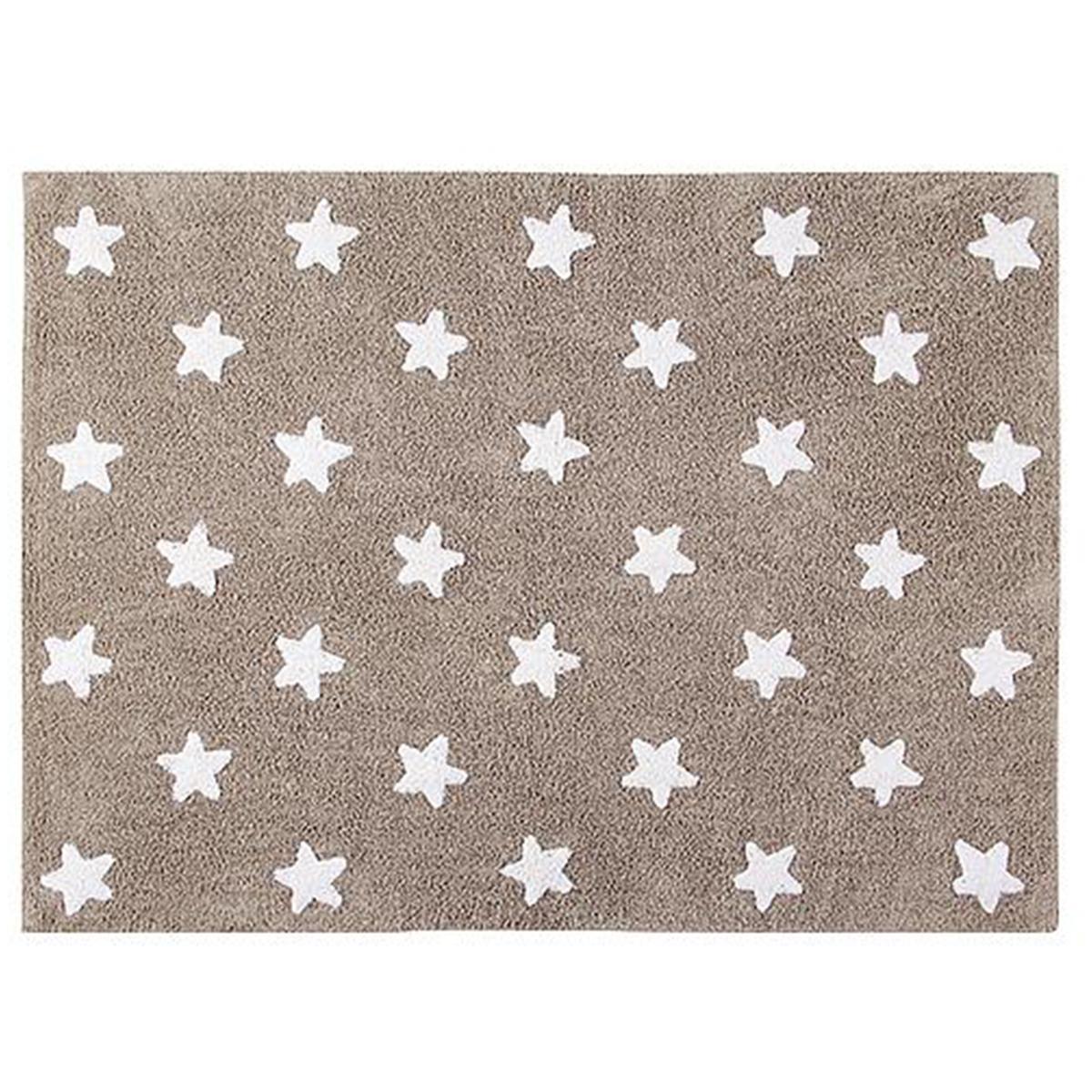 Alfombra 120x160cm STARS Lorena Canals linen-white
