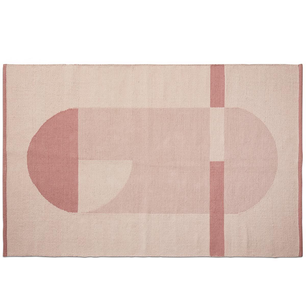 Alfombra 180x100cm ROOM COLLECTION Flexa light-dark dusty rosa