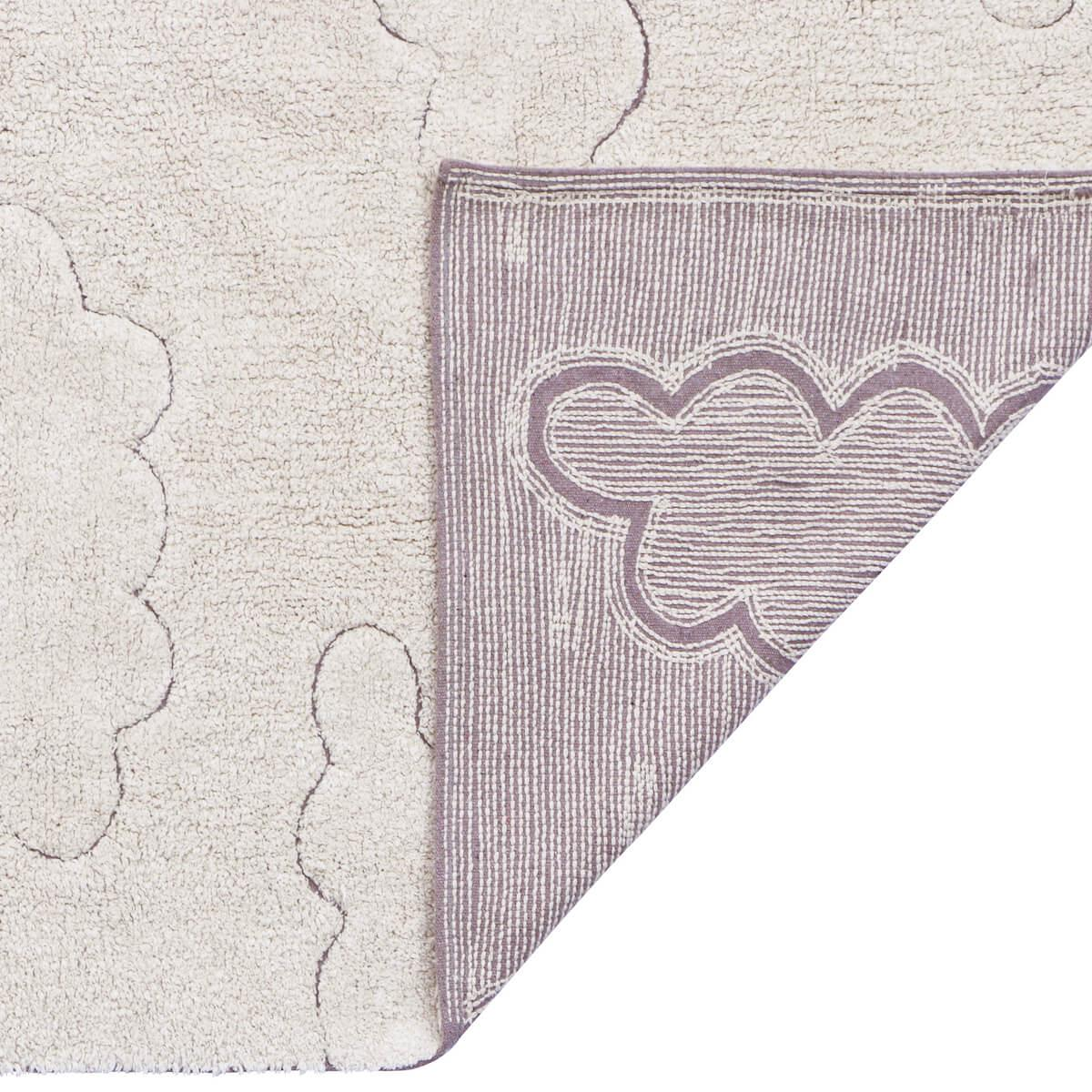 Alfombra lavable RugCycled 140x200cm CLOUDS Lorena Canals