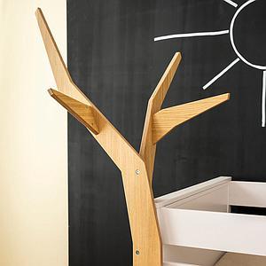 Árbol fijación cama KASVA multiplex chapa roble