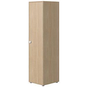 Armario 1 puerta 202cm POPSICLE Flexa roble-blanco