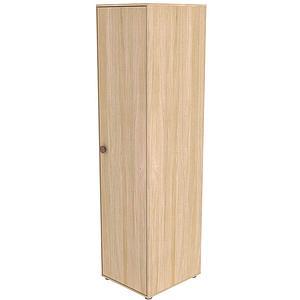 Armario 1 puerta 202cm POPSICLE Flexa roble-cherry