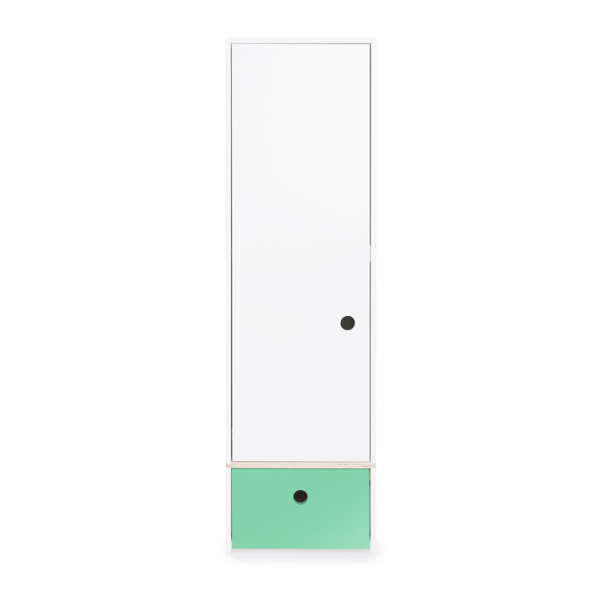 Armario 1 puerta COLORFLEX cajón frontal sea foarm