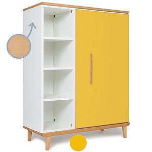 Armario 120cm 1 puerta NADO sunshine yellow