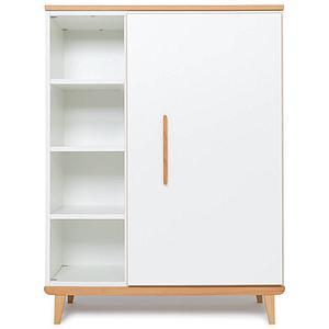 Armario 120cm 1 puerta NADO white