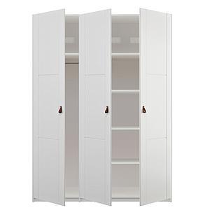 Armario 150cm 2 puertas LifeTime blanco