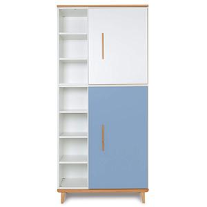 Armario 198cm 2 puertas NADO white-capri blue