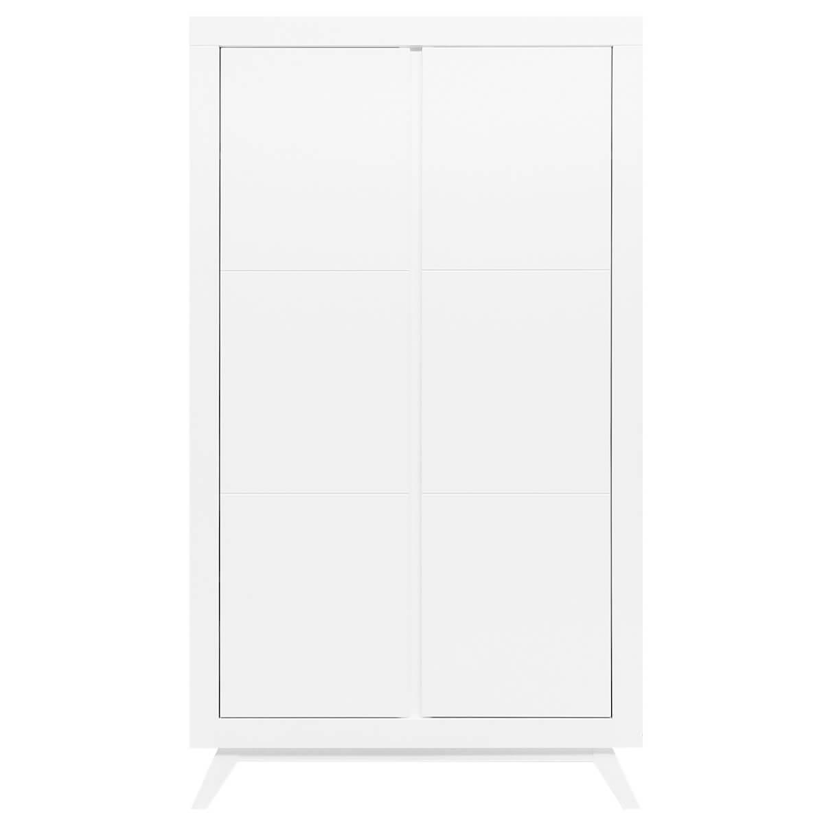 Armario 2 puertas ANNE Bopita blanco
