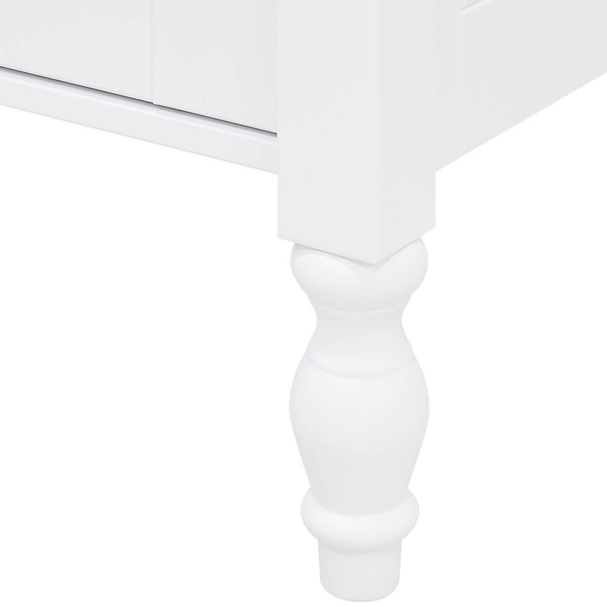 Armario 2 puertas BELLE Bopita blanco