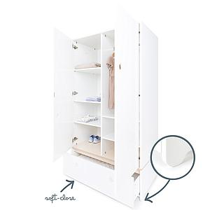 Armario 2 puertas cajón sin frontal COLORFLEX