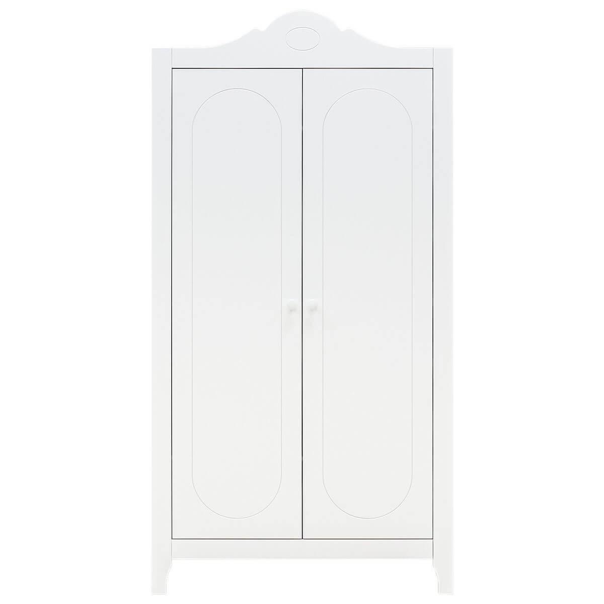 Armario 2 puertas EVI Bopita blanco