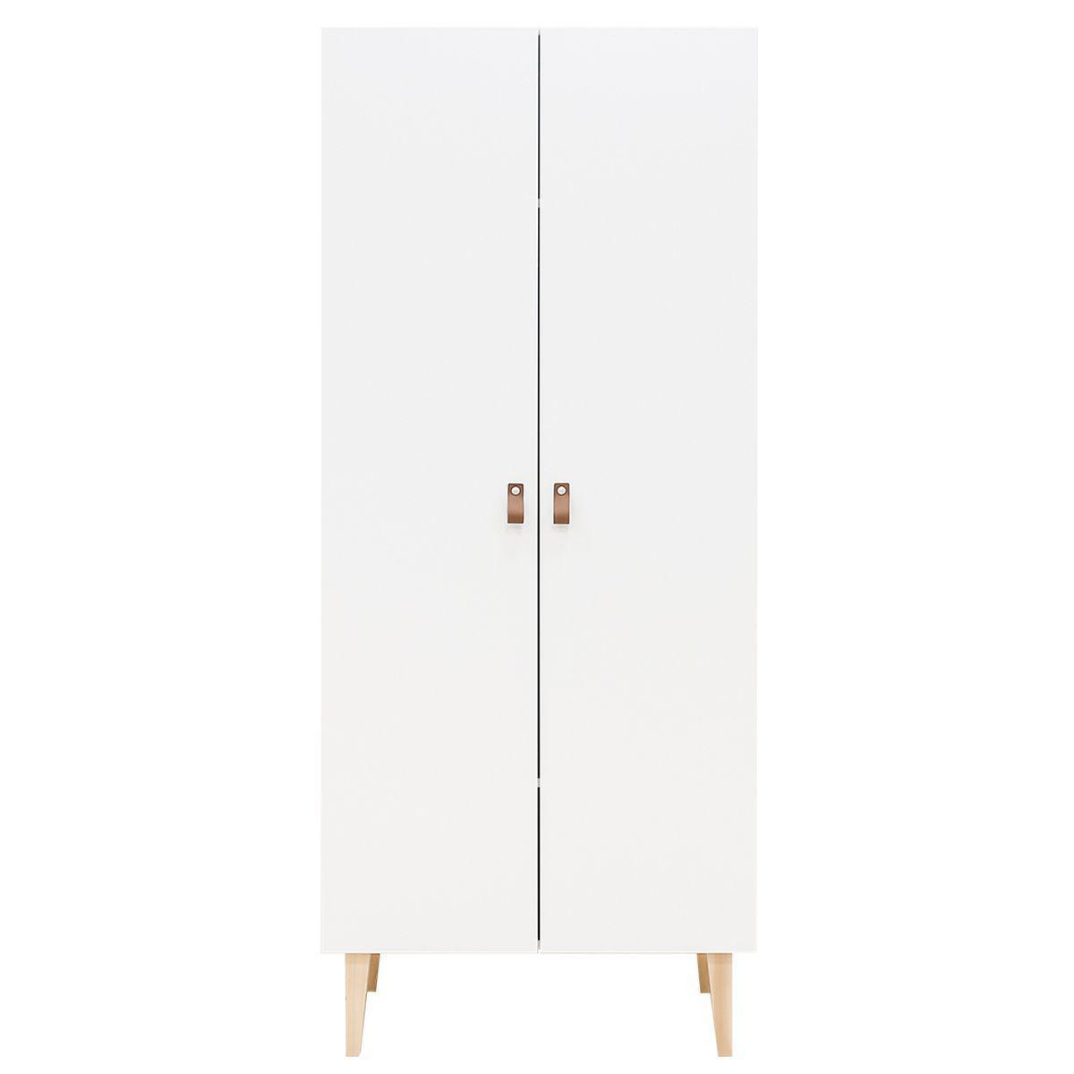 Armario 2 puertas INDY Bopita blanco-natural