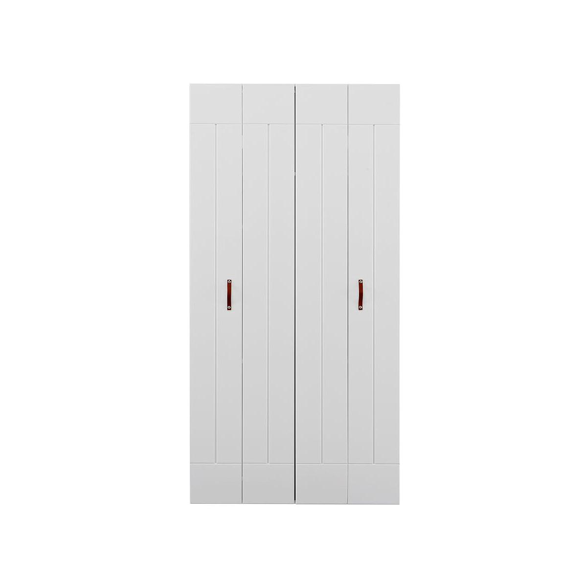 Armario 2 puertas Lifetime blanco