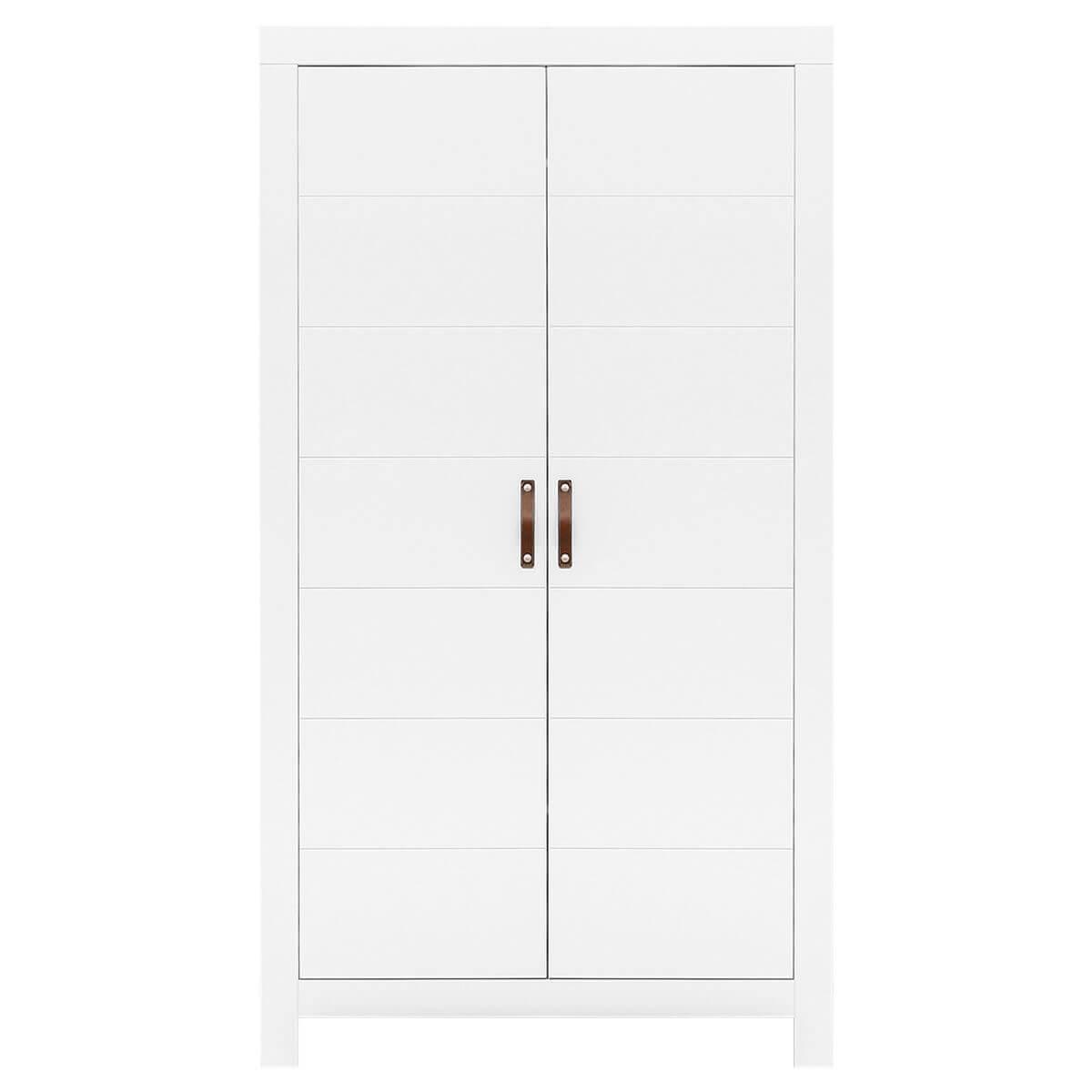 Armario 2 puertas LUCCA Bopita blanco