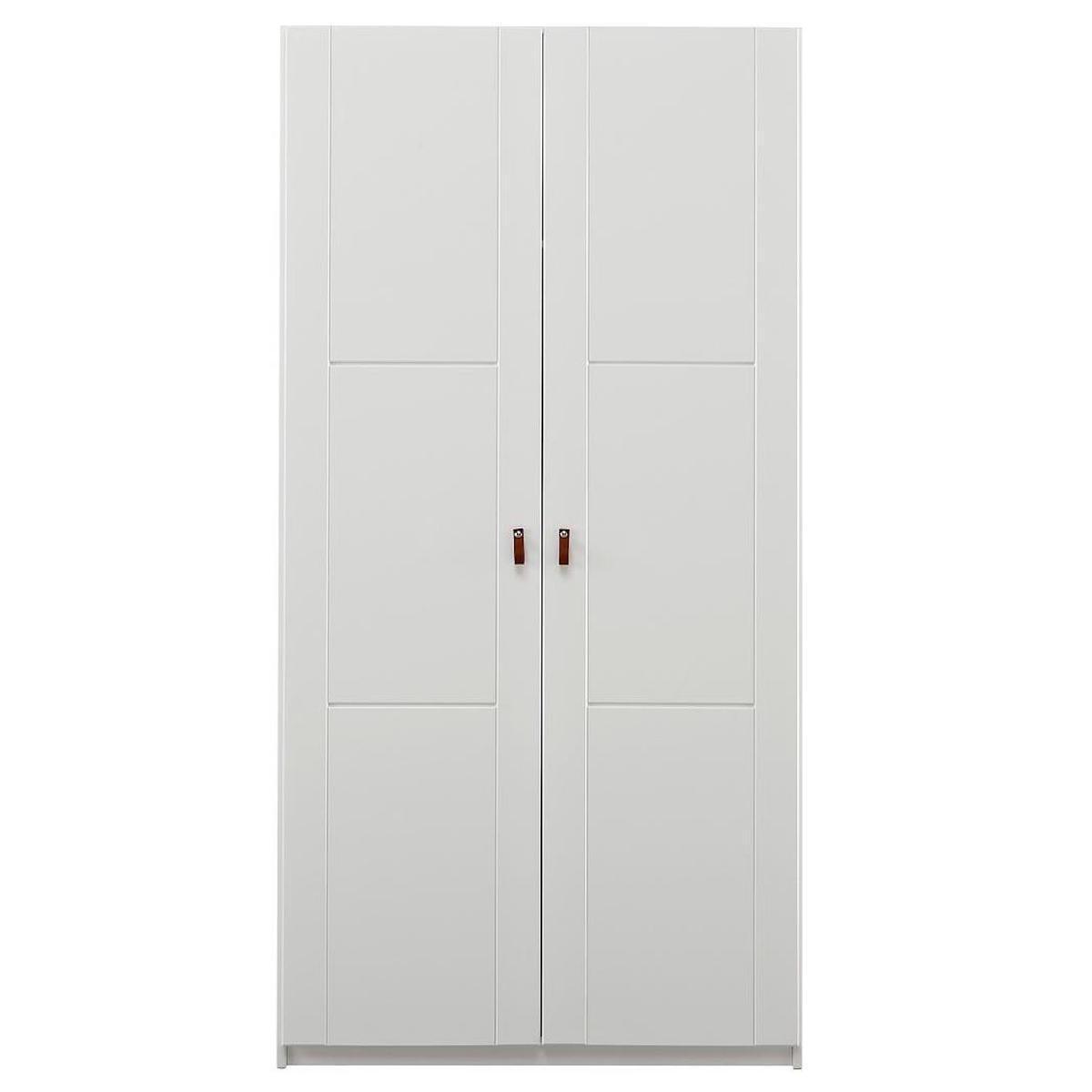 Armario 2 puertas sin estantes Lifetime blanco