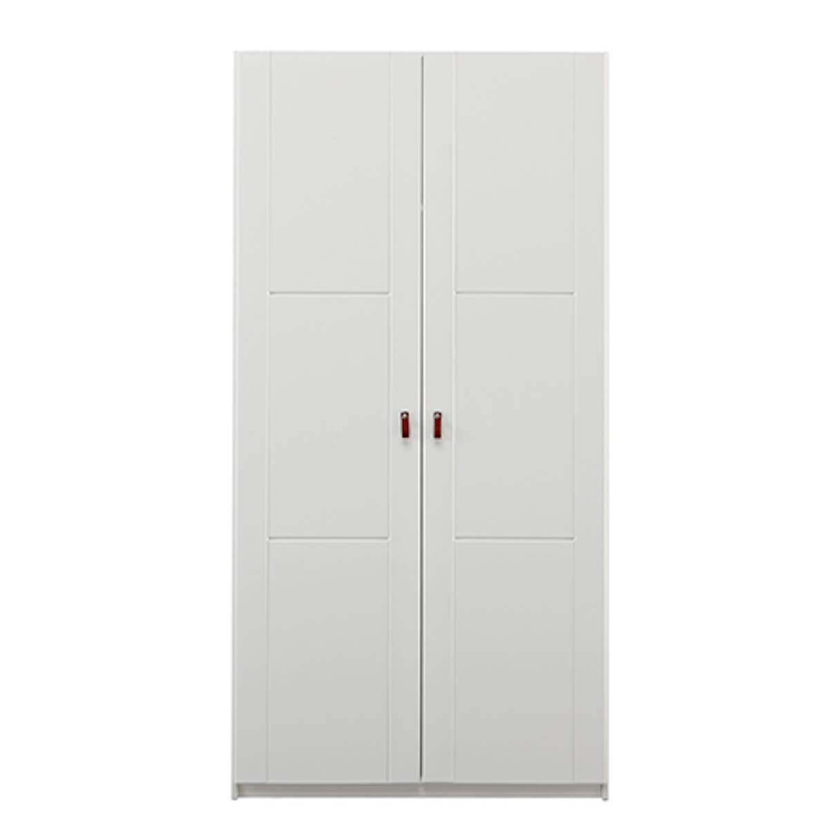 Armario 2 puertas sin tiradores Lifetime blanco
