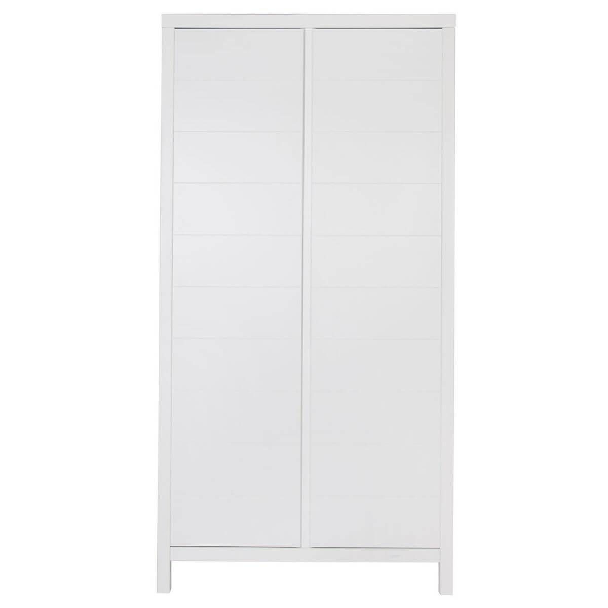 Armario 2 puertas STRIPES Quax blanco