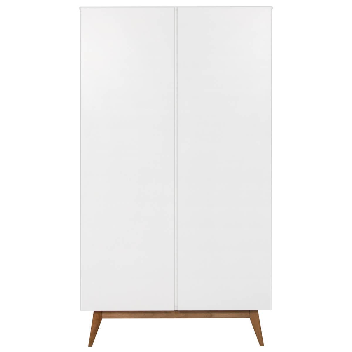 Armario 2 puertas TRENDY Quax blanco