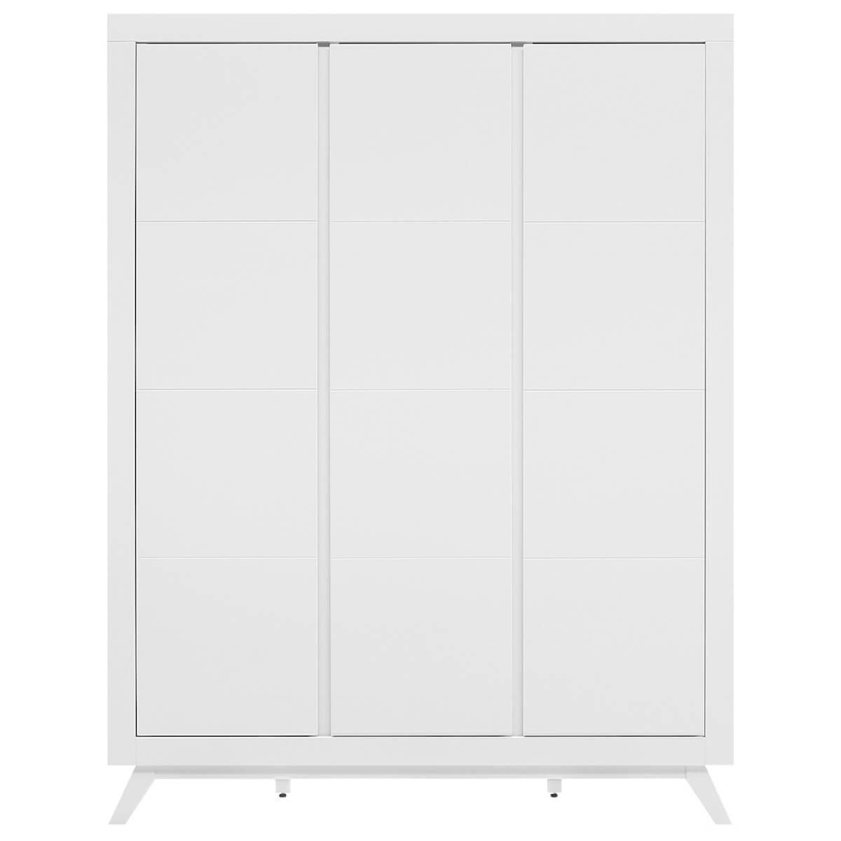 Armario 3 puertas ANNE Bopita blanco