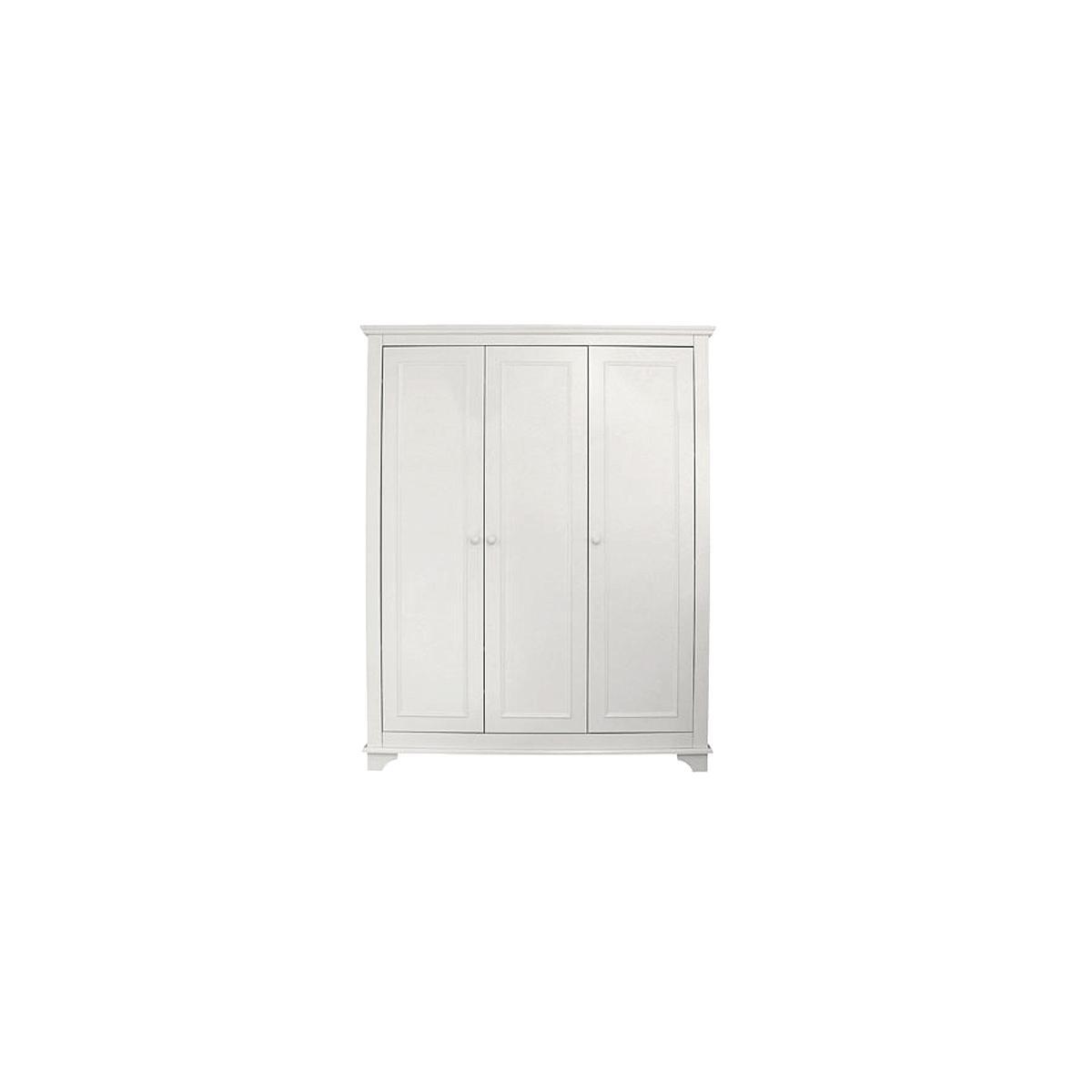 Armario 3 puertas CHARLOTTE Bopita blanco