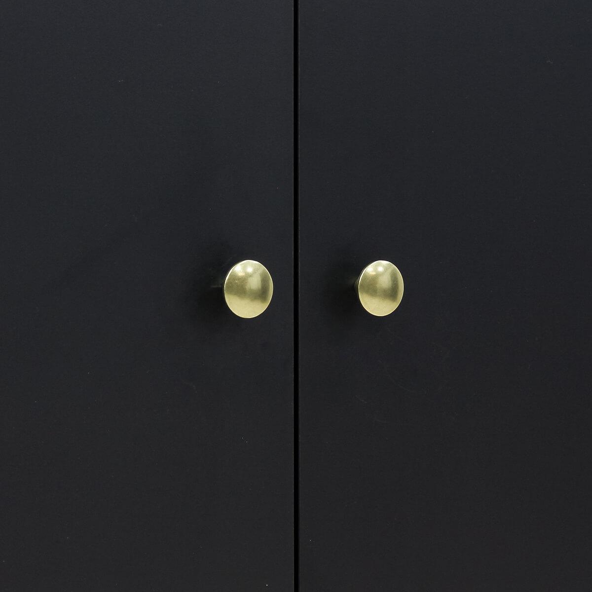 Armario 3 puertas CLOË Bopita negro mate