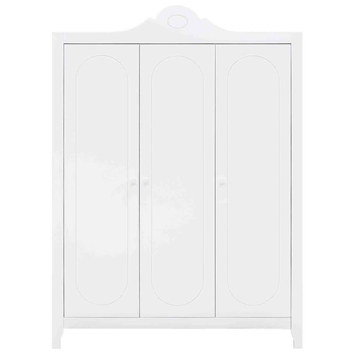 Armario 3 puertas EVI Bopita blanco
