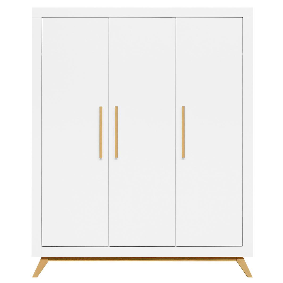Armario 3 puertas FENNA Bopita blanco-natural