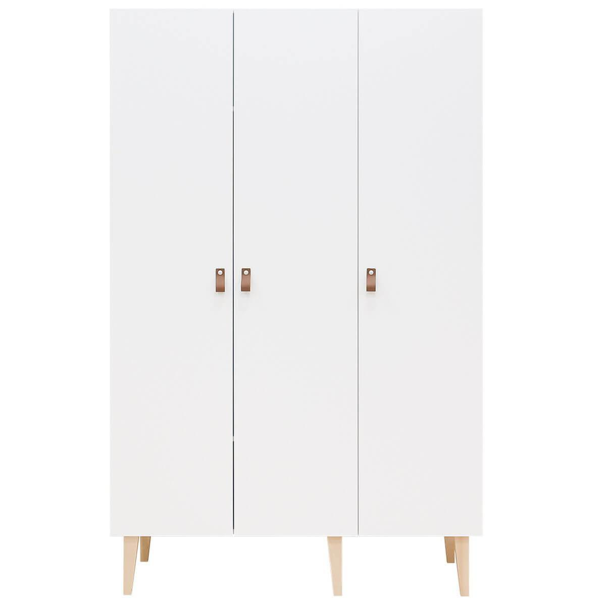 Armario 3 puertas INDY Bopita blanco-natural