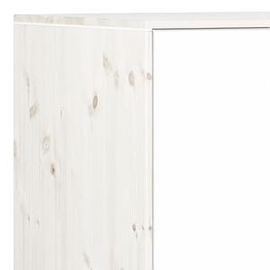 Armario infantil bajo 2 puertas 2 estantes NEW CLASSIC Flexa blanco cal - blanco - blanco
