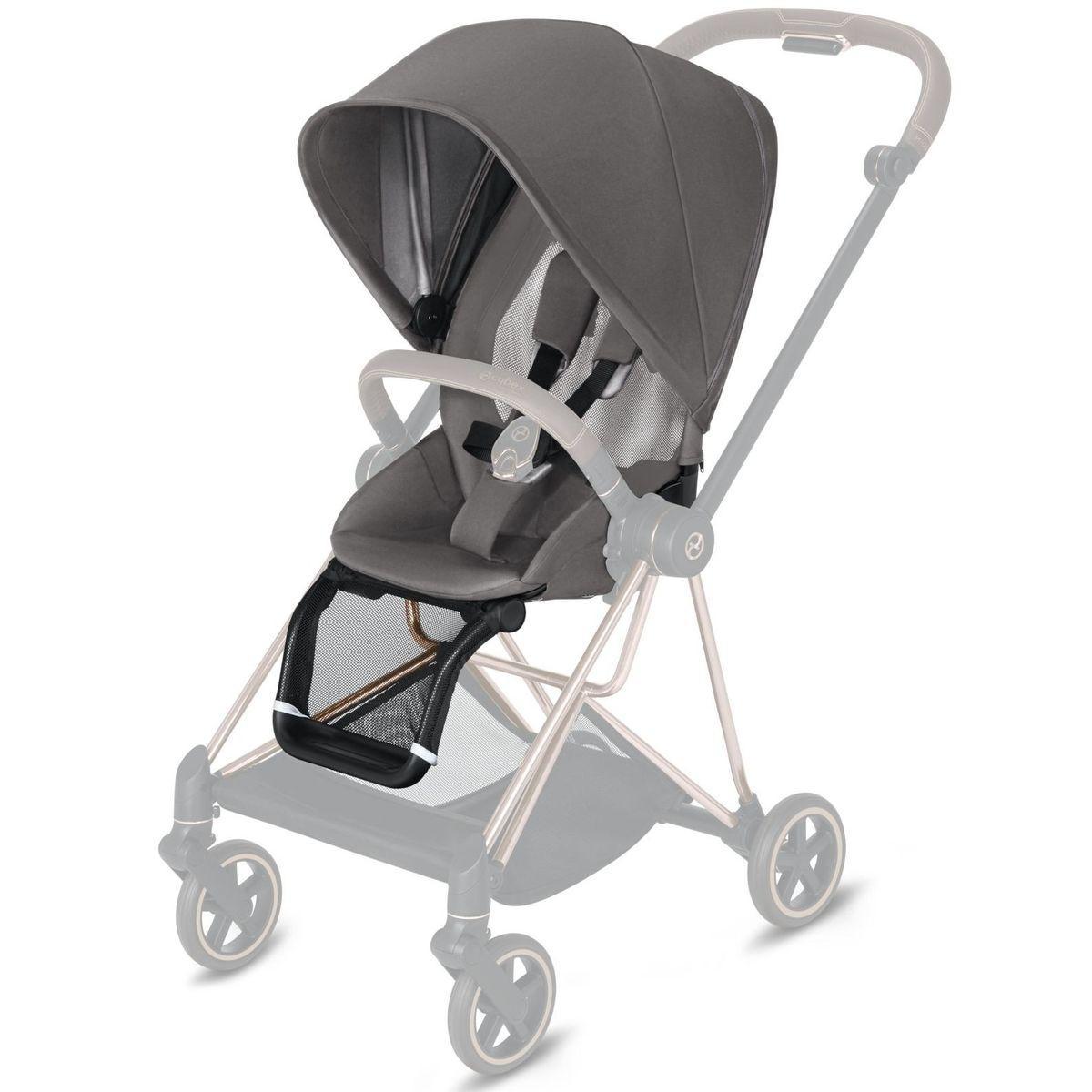 Asiento-pack silla MIOS Cybex manhattan grey-mid grey