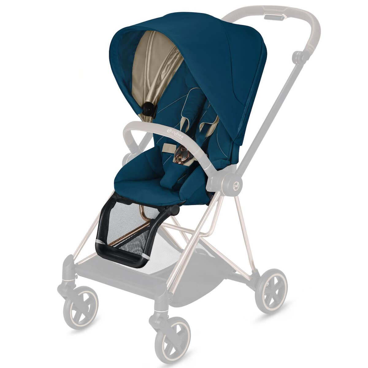 Asiento-pack silla MIOS Cybex Mountain blue-turquoise