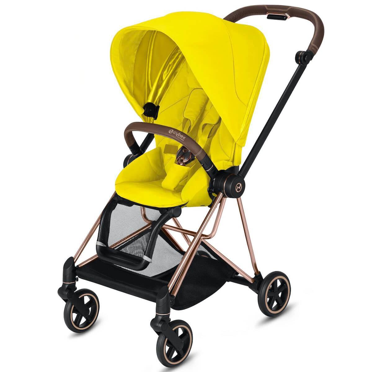 Asiento-pack silla MIOS Cybex Mustard yellow-yellow