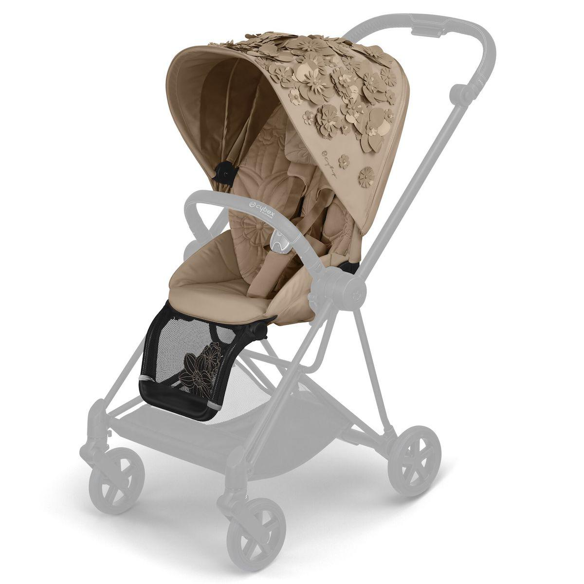 Asiento-pack silla MIOS Cybex Simply Flowers beige