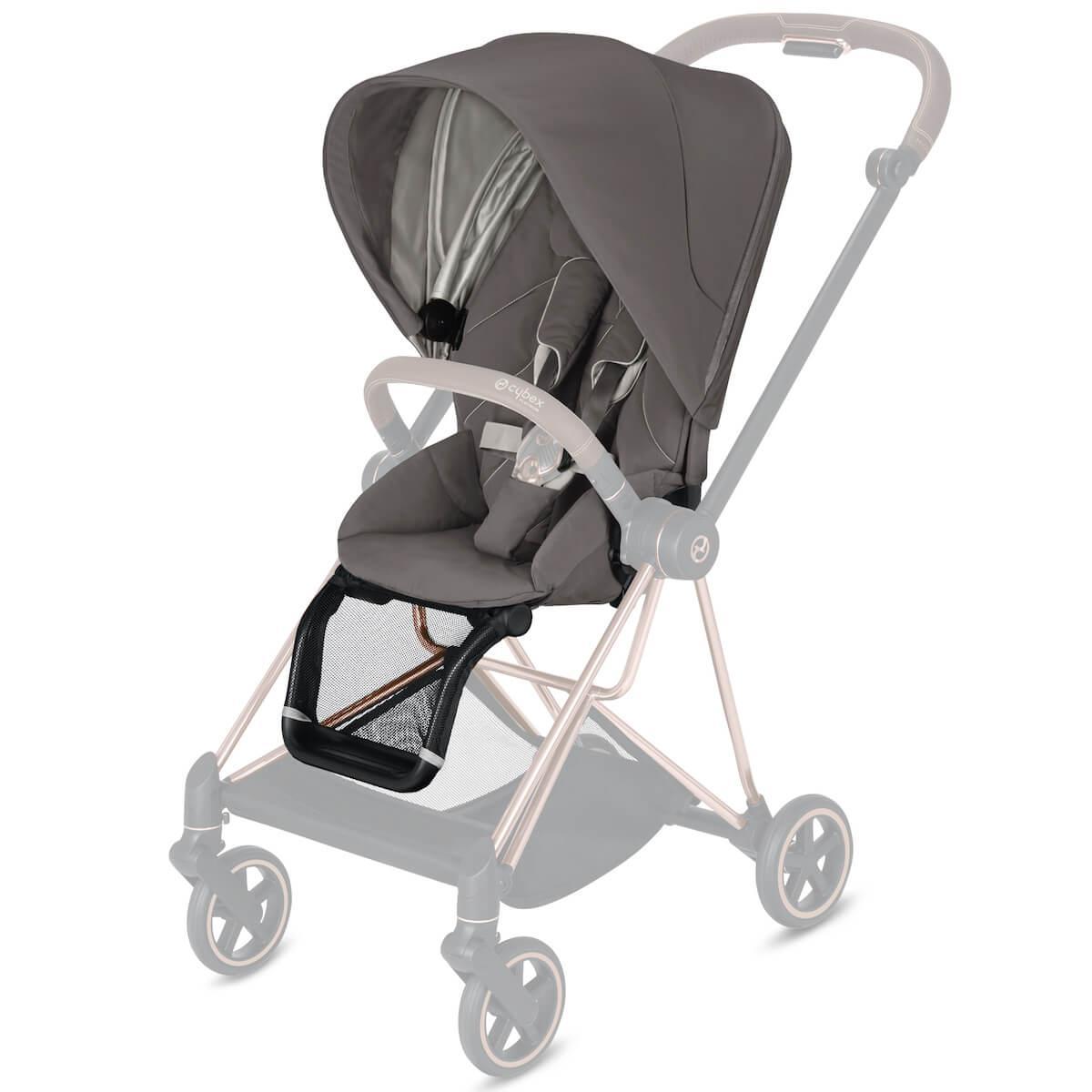 Asiento-pack silla MIOS Cybex Soho grey-mid grey