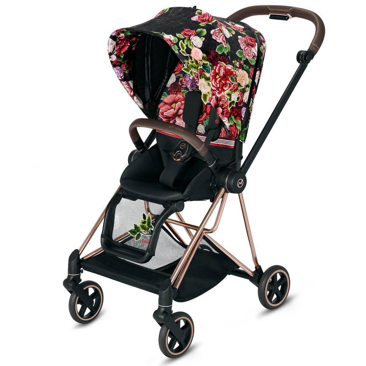Asiento-pack silla MIOS Cybex spring blossom dark-black