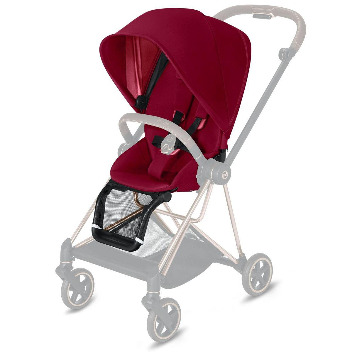 Asiento-pack silla MIOS Cybex true red-red