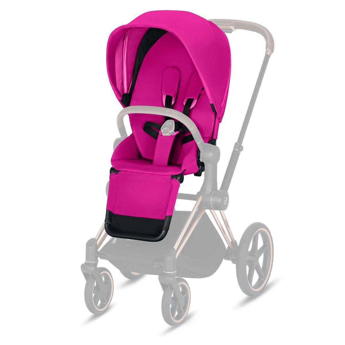 Asiento-pack silla PRIAM Cybex fancy pink-purple
