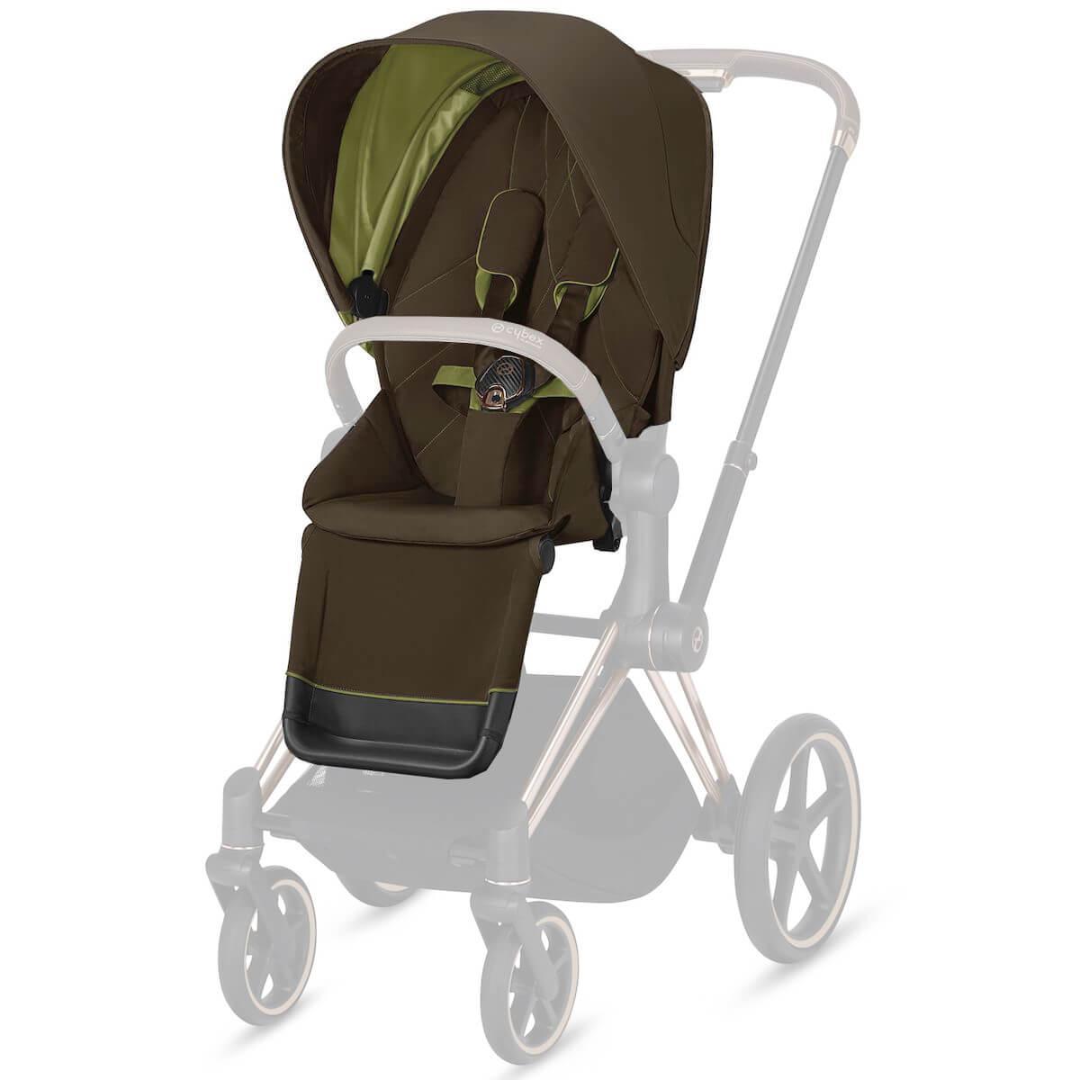 Asiento-pack silla PRIAM Cybex Khaki green-khaki brown