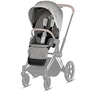 Asiento-pack silla PRIAM Cybex koi-mid grey