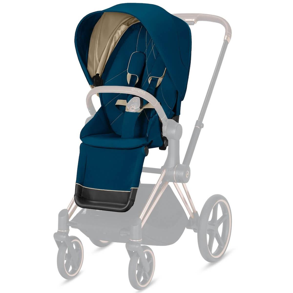 Asiento-pack silla PRIAM Cybex Mountain blue-turquoise