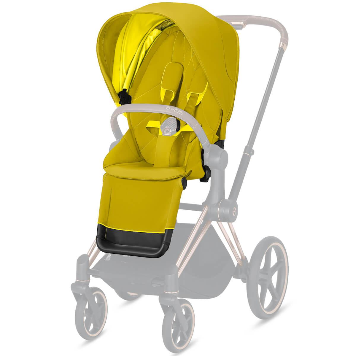 Asiento-pack silla PRIAM Cybex Mustard yellow-yellow
