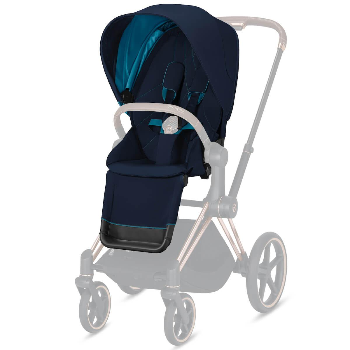 Asiento-pack silla PRIAM Cybex Nautical blue