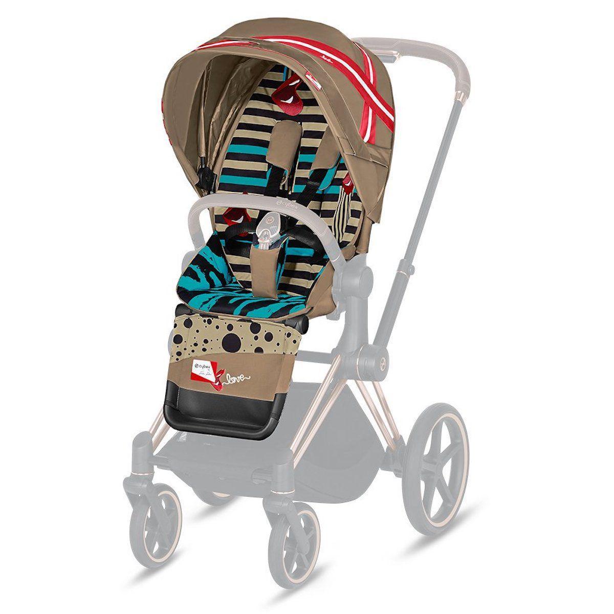 Asiento-pack silla PRIAM Cybex One Love-multicolor