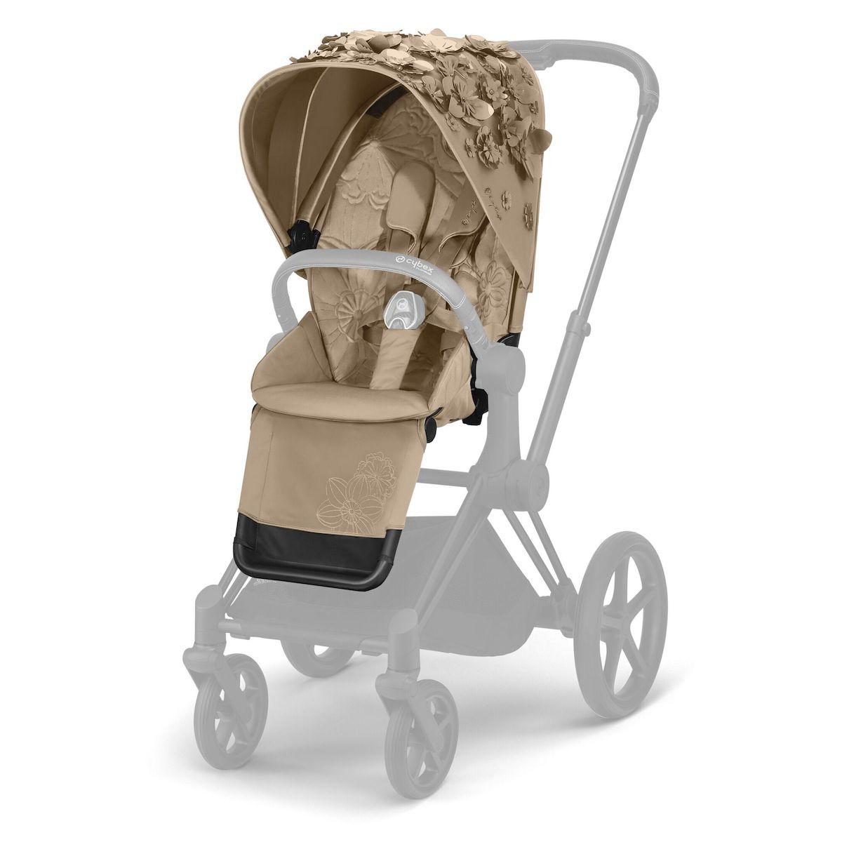 Asiento-pack silla PRIAM Cybex Simply Flowers beige