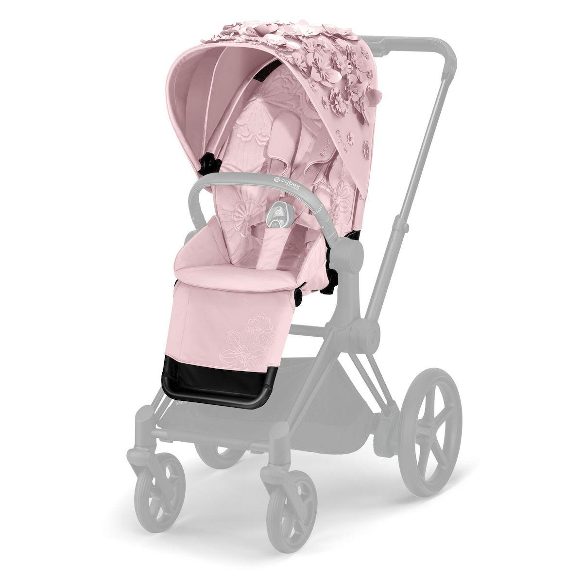 Asiento-pack silla PRIAM Cybex Simply Flowers pink