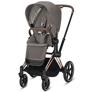 Asiento-pack silla PRIAM Cybex Soho grey-mid grey