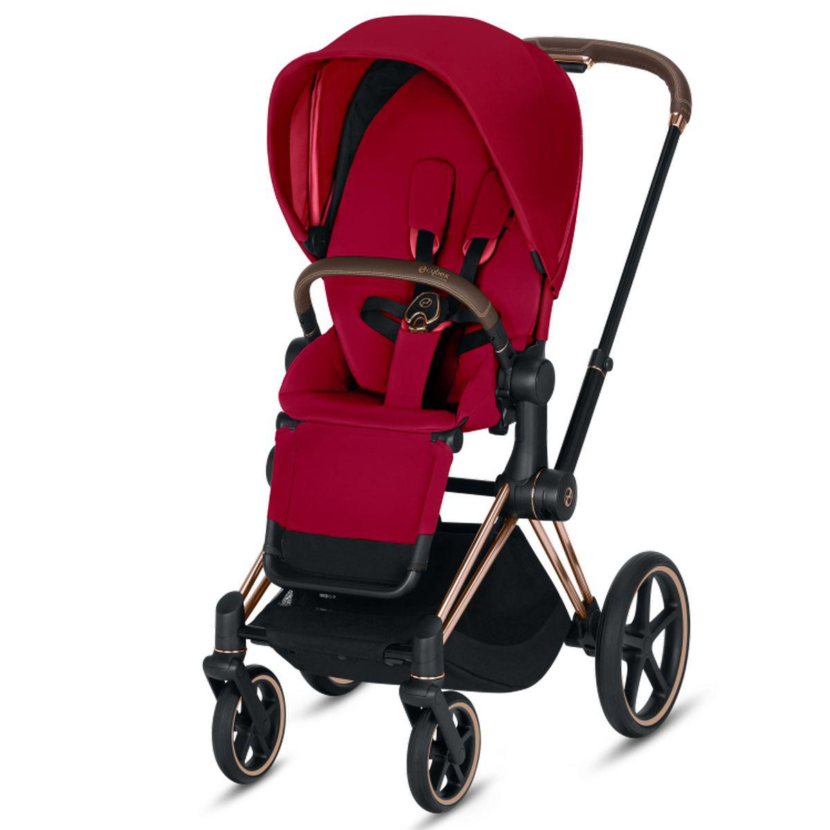 Asiento-pack silla PRIAM Cybex true red-red