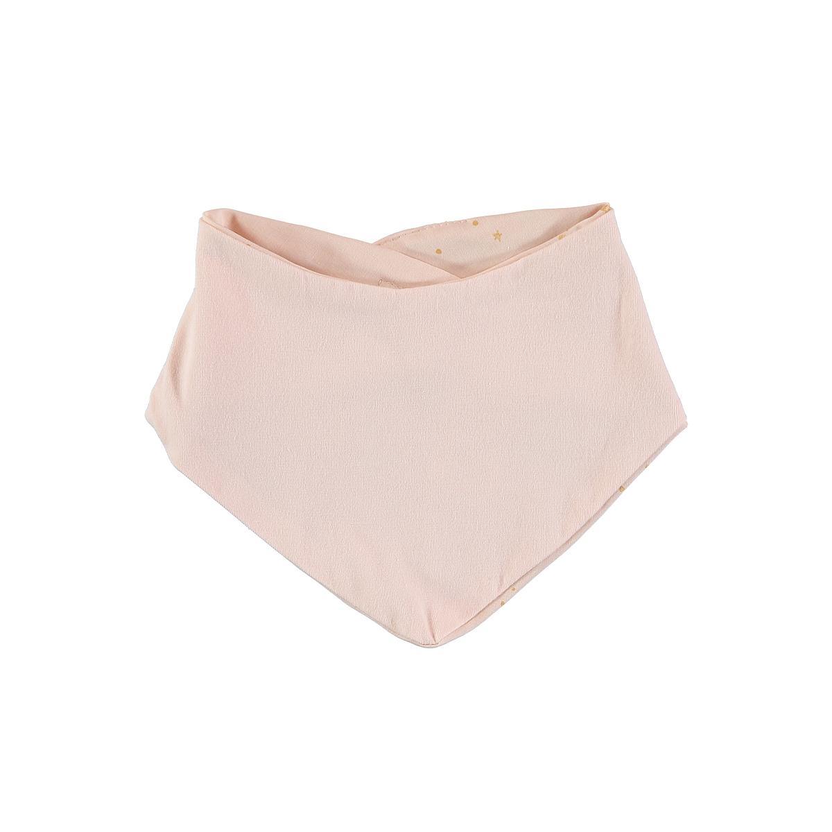 Babero bandana LUCKY ELEMENTS Nobodinoz gold stella-dream pink